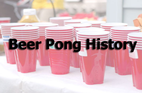 beer pong history